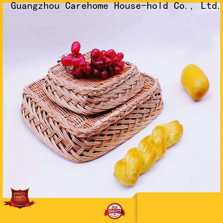 Carehome handwaving wicker gift baskets supplier for market