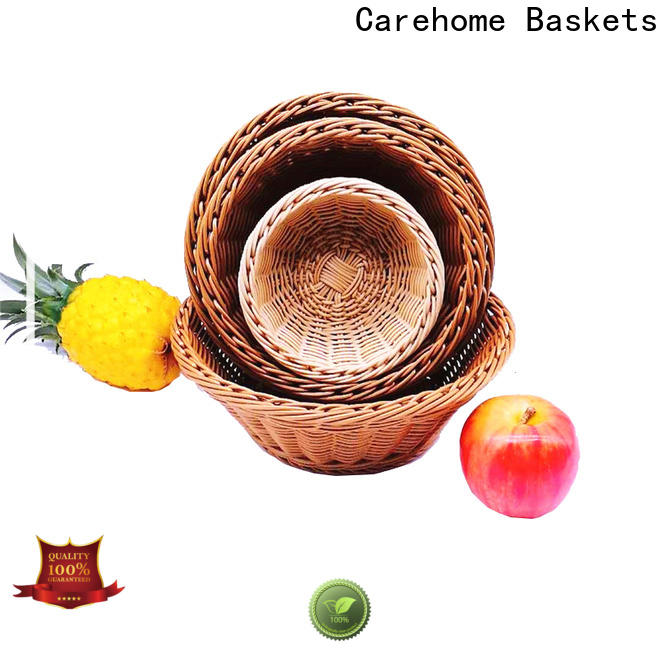 durable wicker baskets kitchen gift with certificates for sale