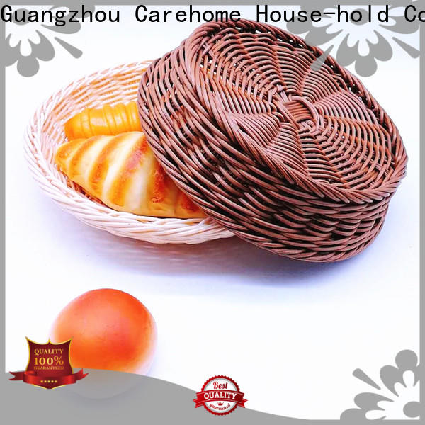 Carehome bamboo storage baskets wholesale for family