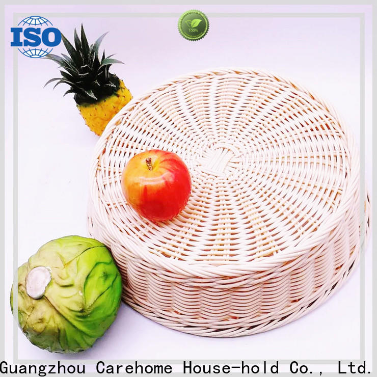 Carehome durable storage baskets with certificates for shop