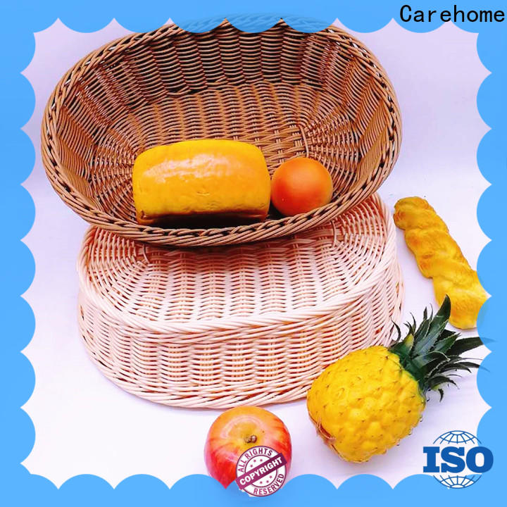 Carehome wire bamboo bread basket manufacturer for sale