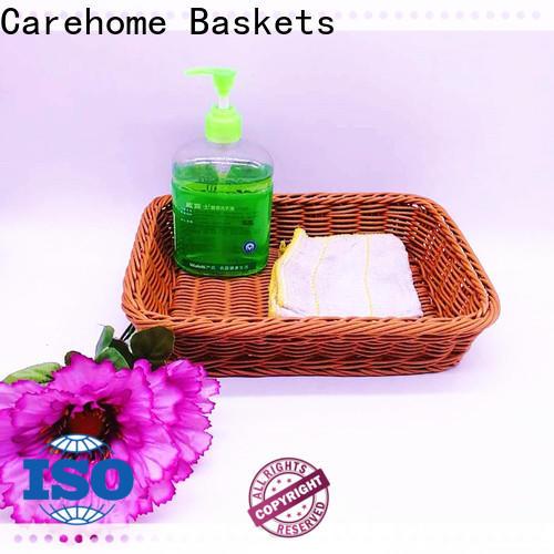 Carehome washable handle basket supplier for market