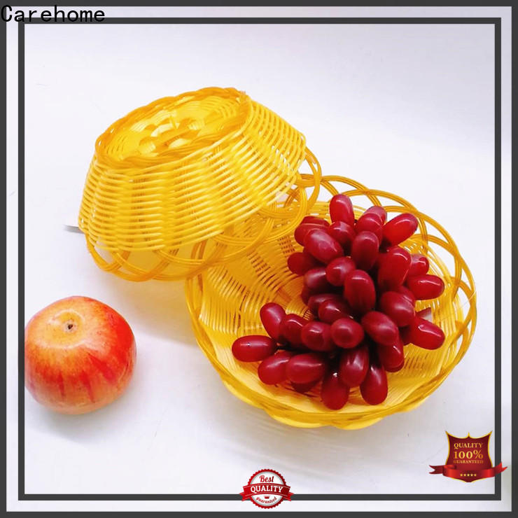 Carehome customized wicker baskets kitchen supplier for supermarket