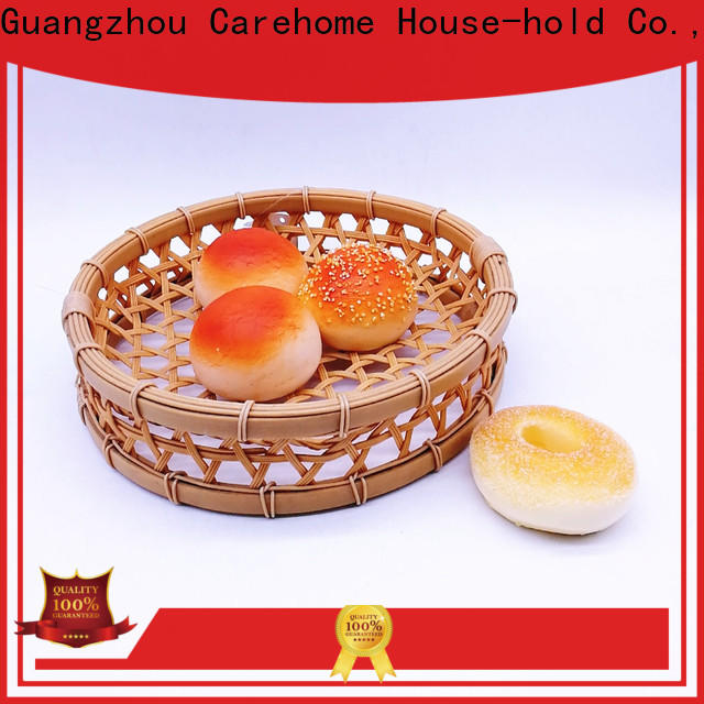 washable oval bamboo basket material on sale for family