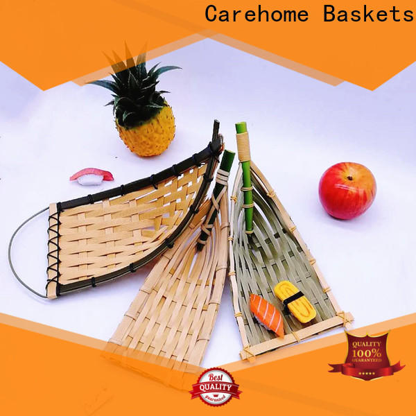Carehome handicraft bamboo basket decoration on sale for family