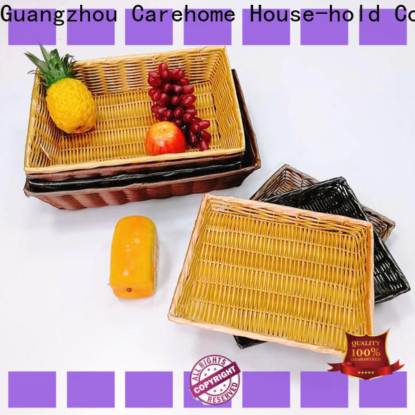 Carehome foldable bamboo bread basket manufacturer for shop