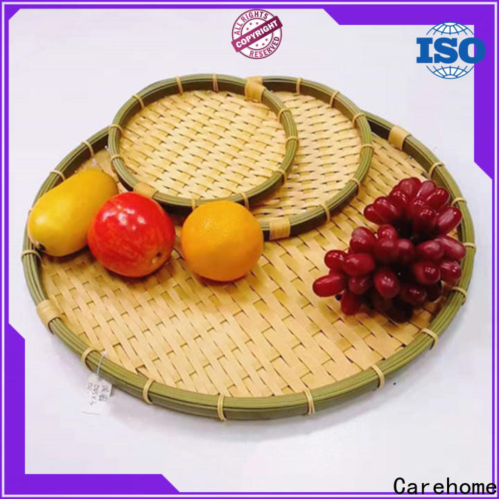 hollow bamboo basket making handmade easy to clean for market