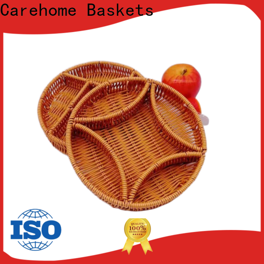 Carehome durable wicker gift baskets wholesale for shop