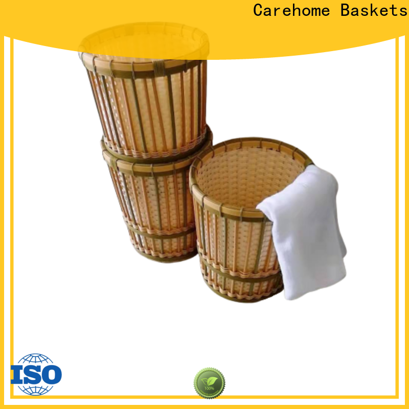 Carehome durable laundry basket manufacturer for shop