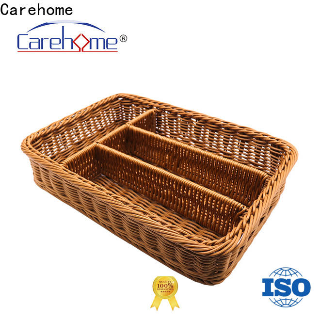 Carehome customized storage baskets with certificates for sale