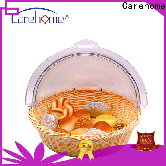 Carehome wicker bakers basket with high quality for supermarket