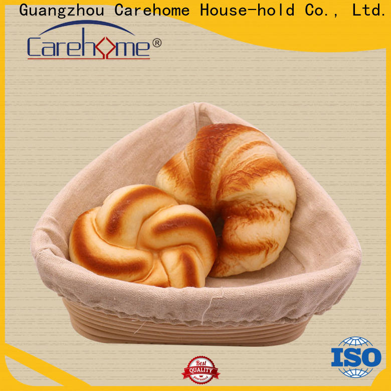 Carehome handicraft bamboo bread basket with high quality for market