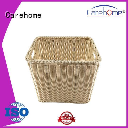 washable breakfast basket rattan supplier for supermarket