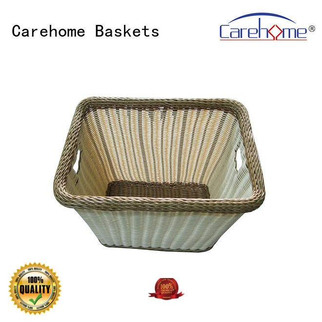 Carehome washable handle basket supplier for family