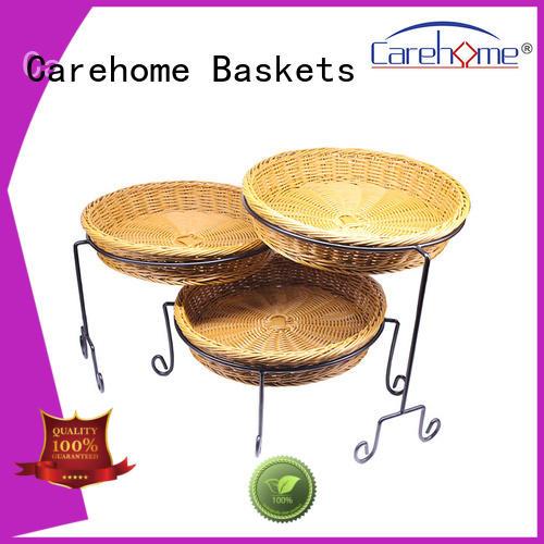 Carehome flat bread basket supplier for market