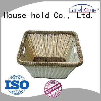 BL-1048 CAREHOME  Durable handmade rattan towel basket for bathroom