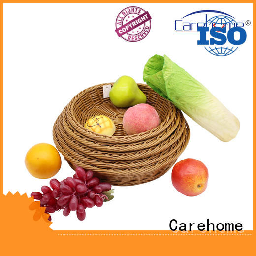 Carehome pp storage baskets with certificates for market
