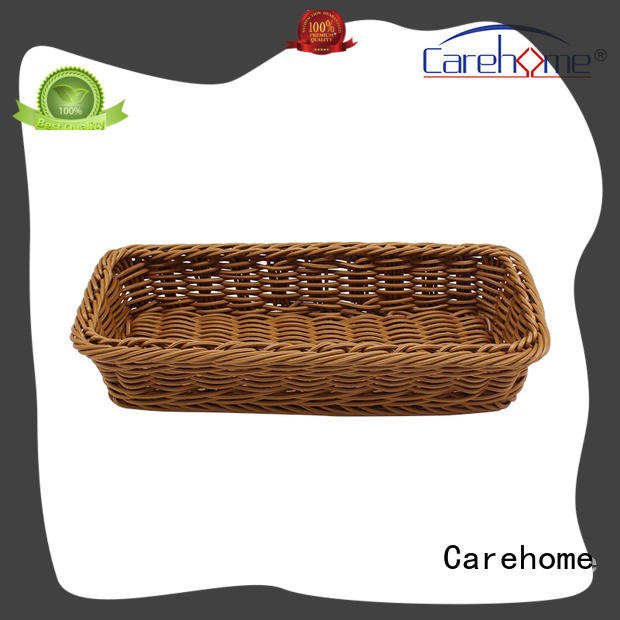 Carehome bamboo restaurant basket manufacturer for market