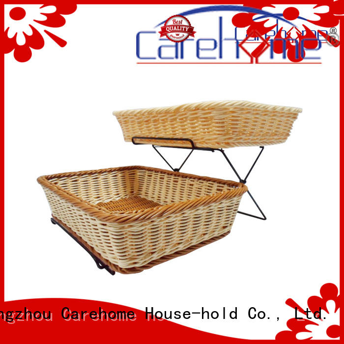 Carehome convinence bamboo bread basket for picnic party home