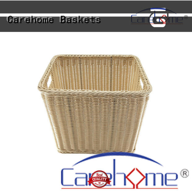 BL-1040 CAREHOME  Durable handmade rattan towel basket for bathroom