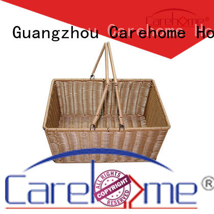 BLt-1021 wholesale food-contact safety PP rattan bakery basket, handcraft plastic basket