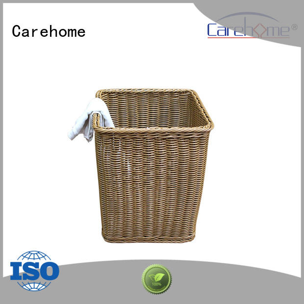 Carehome towel handle basket with high quality for sale