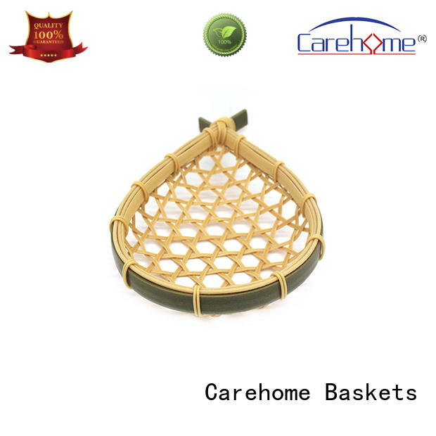 Carehome multifunctional bamboo basket weaving with high quality for market