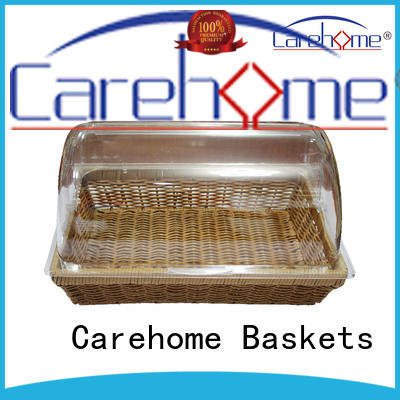 Carehome vegetables bamboo bread basket manufacturer for family