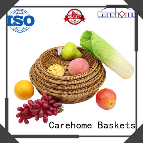 Carehome bowl wicker baskets kitchen supplier for sale