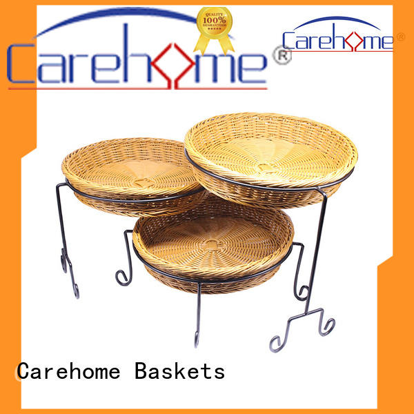 handicraft rattan bread basket baking with high quality for sale