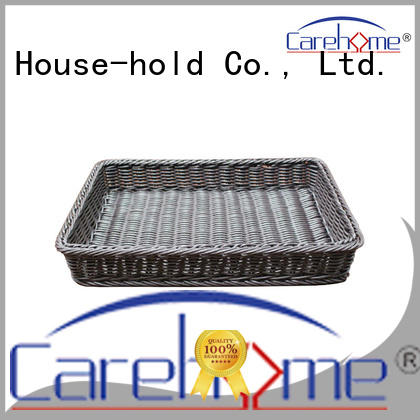 Carehome hand shopping wicker basket supplier for supermarket