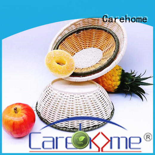 Carehome multifunctional decorative bamboo basket ecofriendly for shop