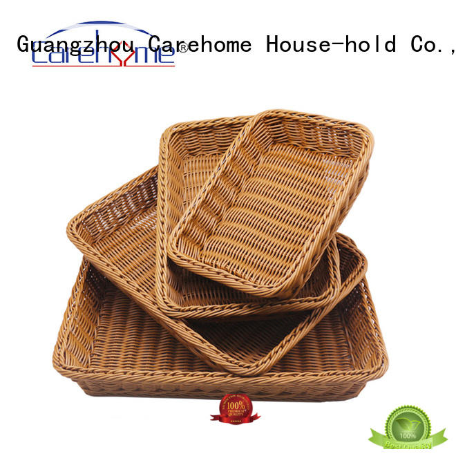 Carehome microwave safety bamboo bread basket wholesale for sale