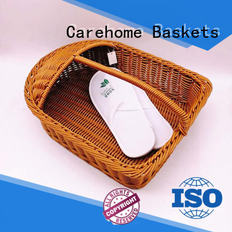 Carehome customized wicker wall baskets bread for sale