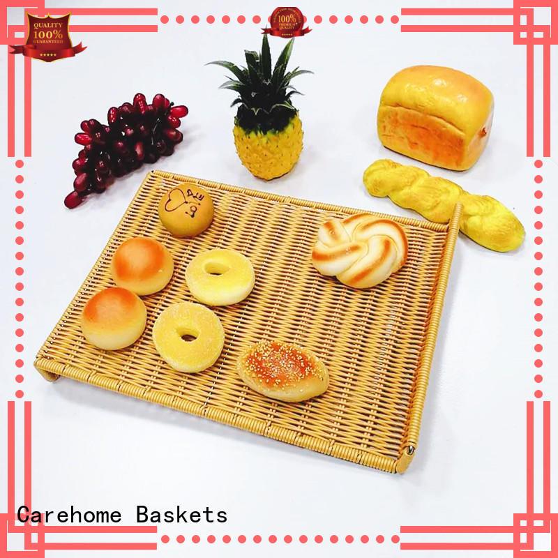 Carehome rattan bread basket manufacturer for shop