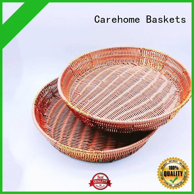 Carehome basket bread basket with certificates for market