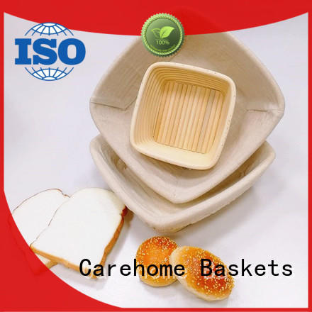 Carehome foldable bread storage basket rectangular for sale