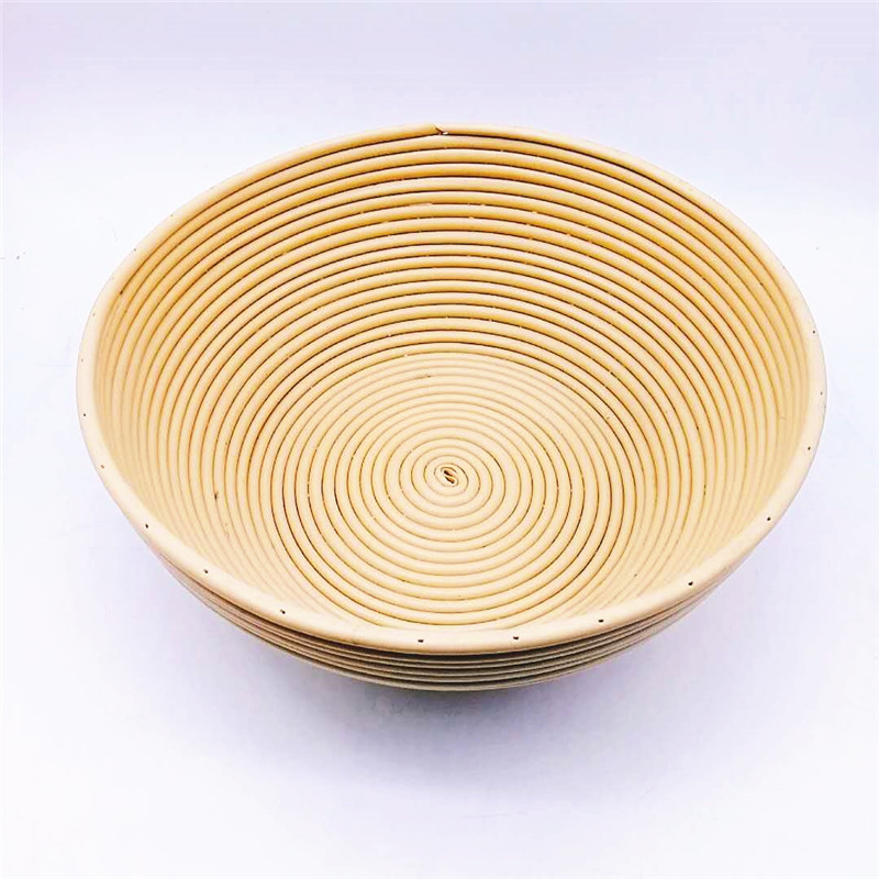 plastic rattan bread basket square with high quality for supermarket-2