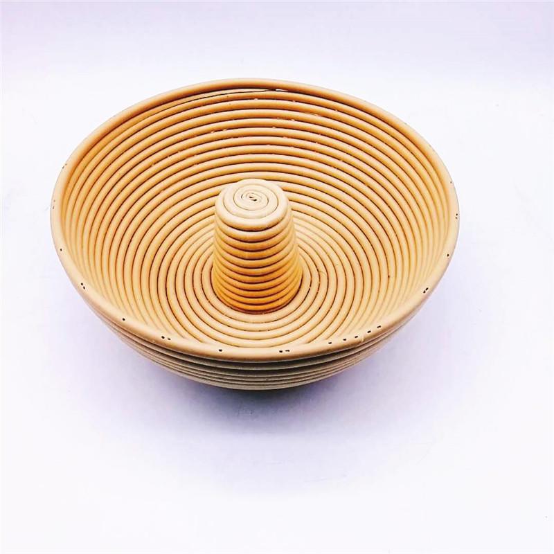Round rattan banneton bread proofing basket for bread cake baking