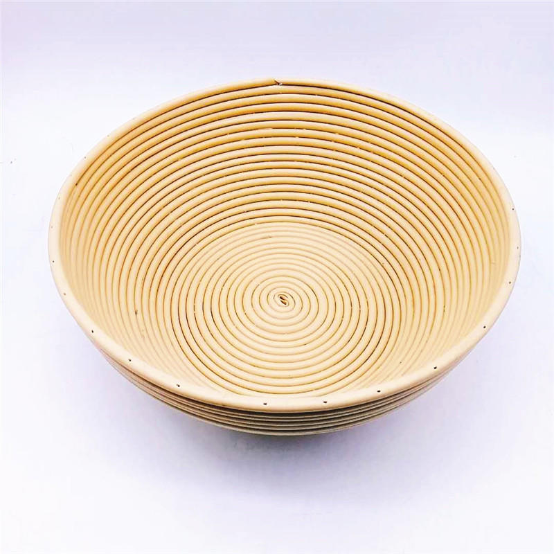 Round rattan banneton bread proofing basket for bread cake baking