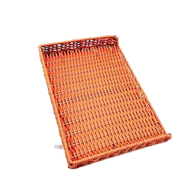 plastic wicker bread basket durable wholesale for supermarket-1