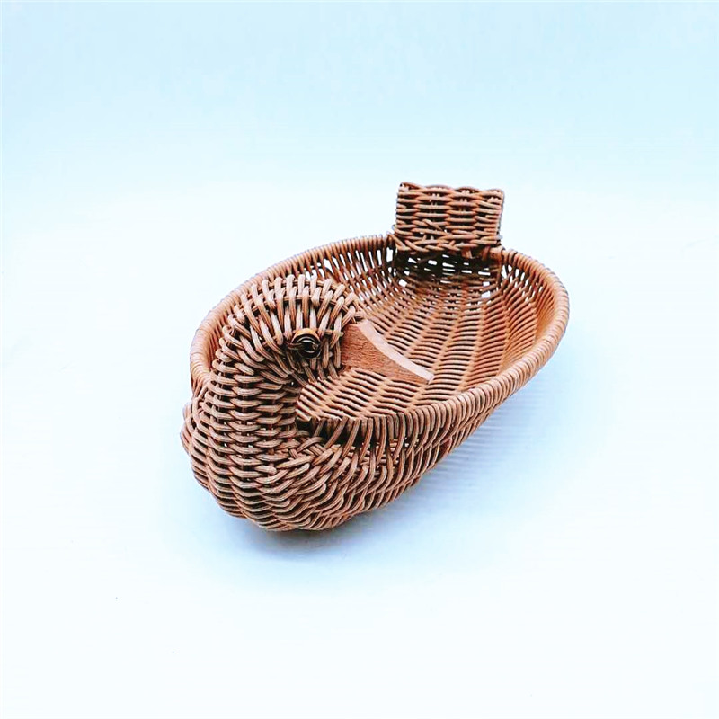 Carehome woven craft gift basket with high quality for supermarket-1