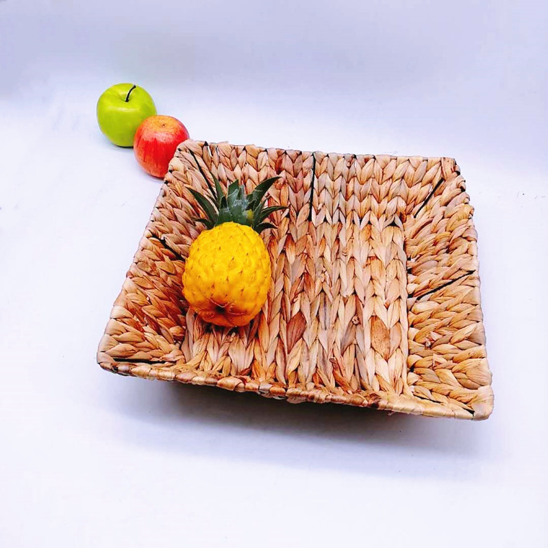 washable woven seagrass basket fruit wholesale for family-1