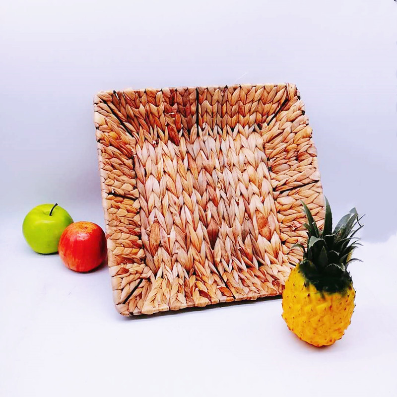 washable woven seagrass basket fruit wholesale for family-2