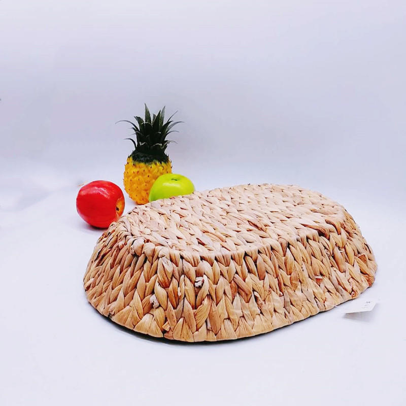 Sea-002 High quality oval water hyacinth storage basket