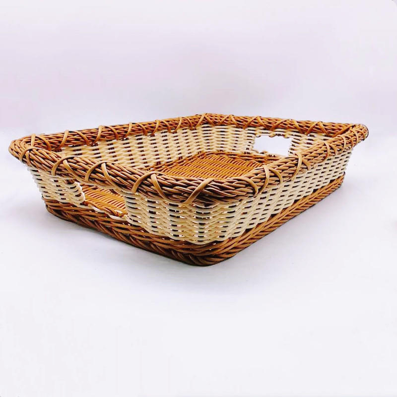 Vietnam eco-friendly rattan laundry storage basket bathroom basket
