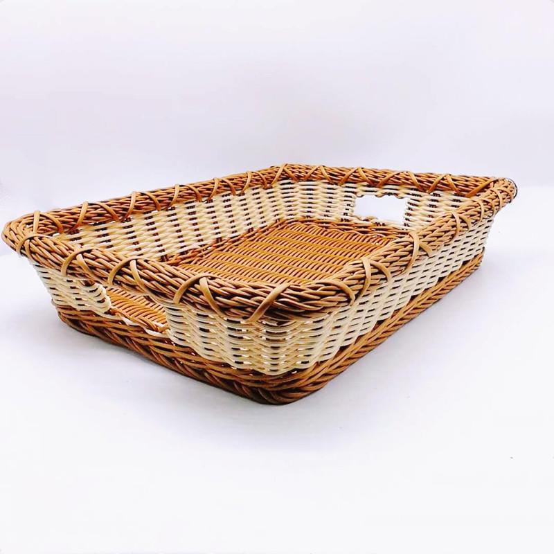 Vietnam eco-friendly rattan laundry storage basket bathroom basket