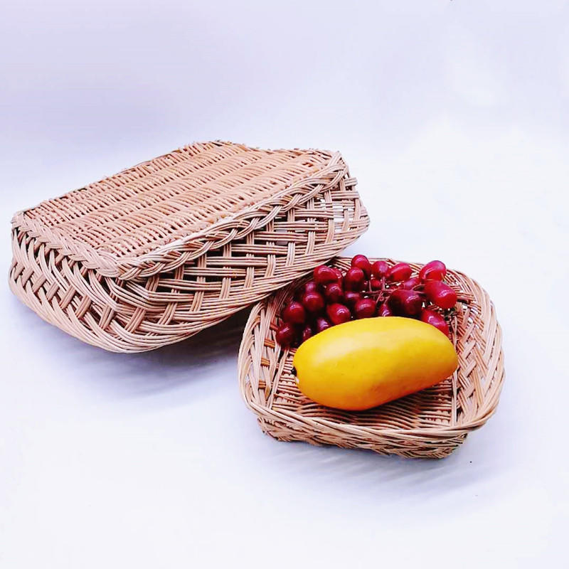 Natural strong willow basket, basket made of willow