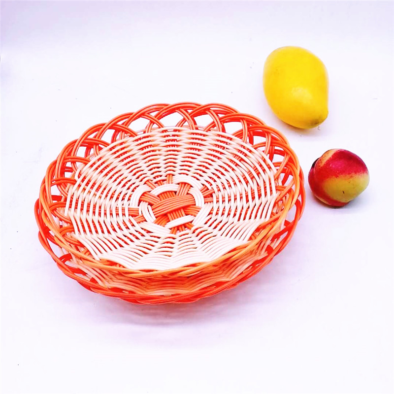 Carehome handicraft rattan bread basket manufacturer for family-1