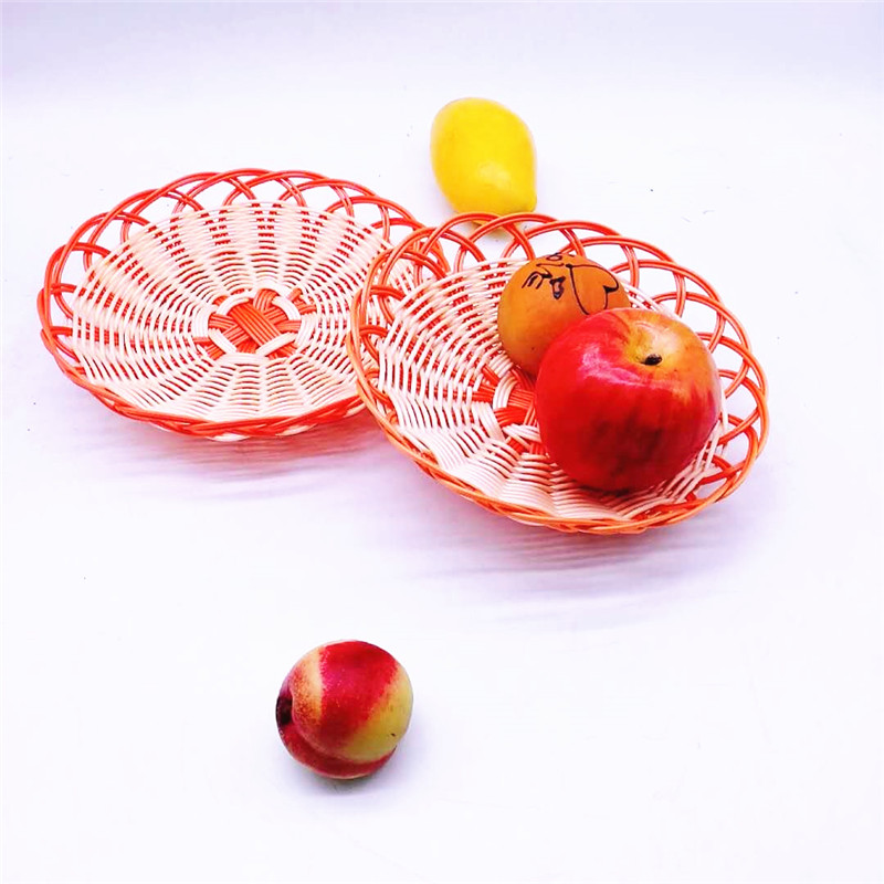 Carehome handicraft rattan bread basket manufacturer for family-2